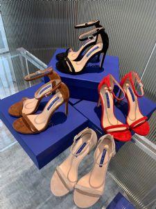 SW 一字带凉鞋经典款真皮羊京凉鞋漆皮凉鞋sw图片