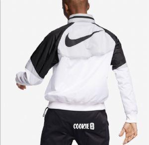 耐克Nike男女复古拼接大Logo超轻防风衣防晒服运动外套