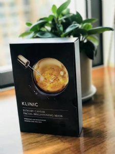 一叶子新品KLINIC石墨烯鱼籽面膜多少钱一盒?好用吗?图片