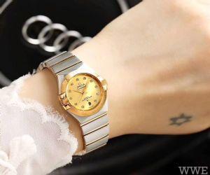 双鹰星座系列女士全自动机械手表