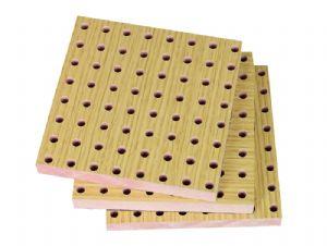 孔木吸音板-会议室木质吸音板
