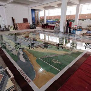 陶瓷壁画厂 手绘陶瓷壁画 高温打印室内壁画