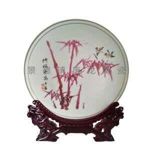 定做陶瓷纪念盘 公司庆典礼品纪念盘