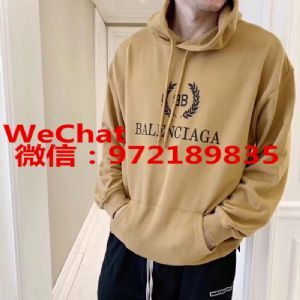 上海Balenciaga/巴黎世�砻诺晖�款卫衣外套批发代理货源图片