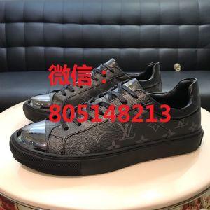 工厂高档L v男鞋货源*品质男鞋饰品专柜品质