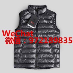 上海外贸始祖鸟户外冬季保暖羽绒服马甲批发价格 一件代发货