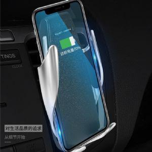 魔夹S5车载无线充电器智能感应全自动汽车手机支架万能通用抖音同款