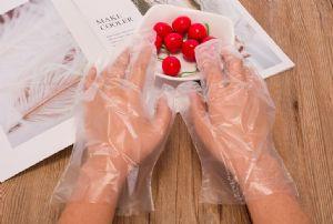 透明一次性手套一一次性透明聚乙烯手套批发箱卖多少钱