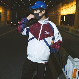 口罩风源 J18328-P70 100%聚酯纤维 新款男士夹