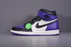 紫脚趾   Air Jordan 1 Retro Hi