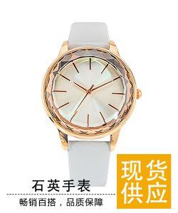 稳达时手表加工厂 批发简约女士石英腕表 皮带个性时尚女款手表