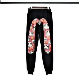 福神大M毛圈薄款长裤