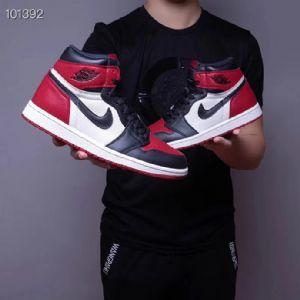 Nike Air Jordan 1 Bred Toe AJ1