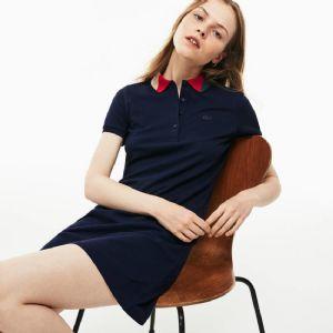 2019新款外贸货源法鳄原单法国品牌女装连衣裙
