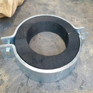 保冷管托 双螺栓管夹紧固管道工程管托