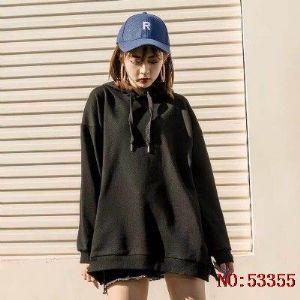 彪马女连帽卫衣休闲上衣宽松运动跑步套头衫 一件代发66891