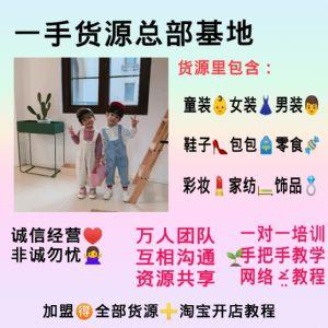 中欧韩泰女装童装一手货源一件代发招加盟教引流精准客源图片
