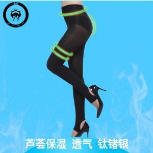芦荟踩脚打底裤收腹提臀保湿束身裤塑身美体内衣生产厂家