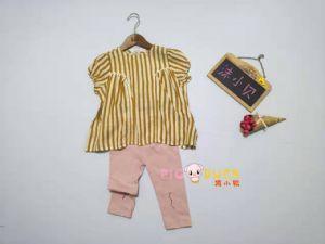 19年马沫含衣柜沫小贝夏季新款童装可爱韩版时尚套装