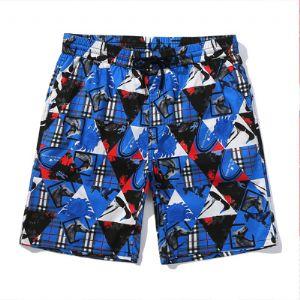 速干宽松沙滩裤男大码泰国海边度假情侣温泉平角泳裤套装潮流短裤