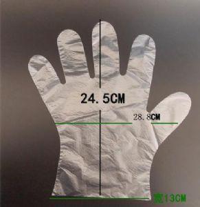 一次性pe手套标准尺寸厂家订制