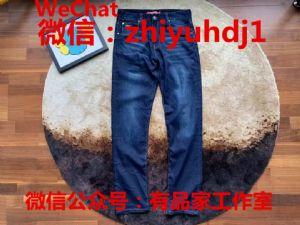 工厂尾货Lacoste法国鳄鱼男装牛仔裤批发代理一件代发