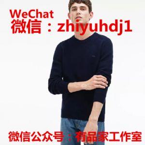 北京Lacoste法国鳄鱼专柜同款男装毛衣批发代购货源一件代发