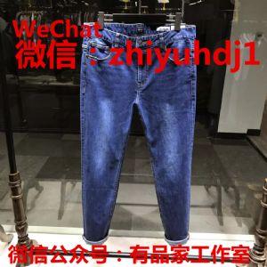 原单外贸hugo boss牛仔裤工厂直销货源  服装店拿货渠道图片