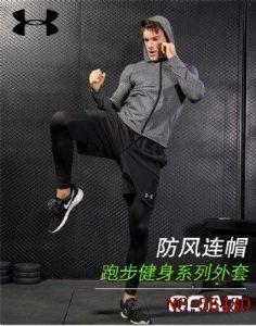 源头批发安德玛男款运动健身三件套质量至上3325
