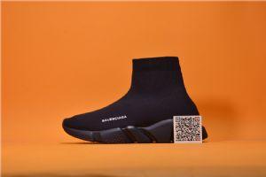 顶级过验巴黎世家Balenciaga袜子鞋全黑