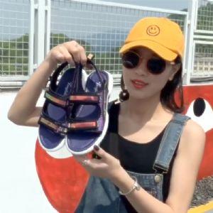 沙滩凉鞋,沙滩拖鞋大量上新,透气舒适还很便宜图片
