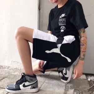 Puma彪马夏季短裤男女宽松休闲运动嘻哈速干潮牌情侣拼色五分
