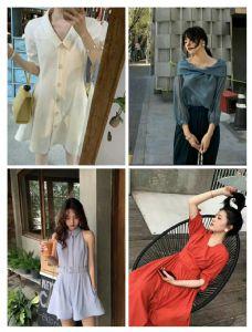网红爆款时尚女装工厂批发、自产自销、一件代发店铺图片