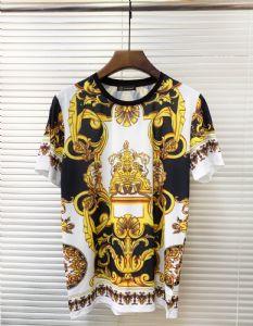 Versace范思哲金色2019高档男装短袖T恤*
