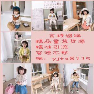 精品韩版爆款童装女装一手货源一件代发图片